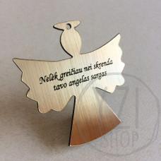 Graviruotas angelas - Nelėk greičiau nei skrenda tavo angelas sargas