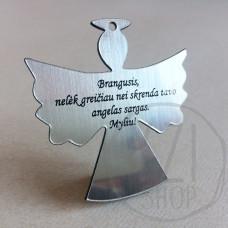 Graviruotas angelas - Brangusis, Nelėk greičiau nei skrenda tavo angelas sargas
