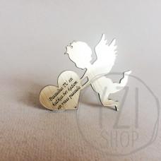 Graviruotas angelas - Angelas su ♥ (2)