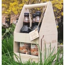 Medinė dėžė gėrimams
